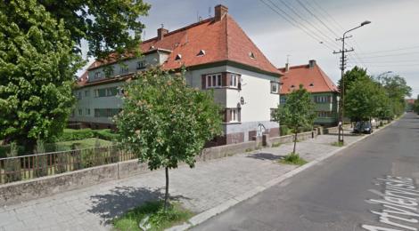 ul. Artyleryjska w Legnicy