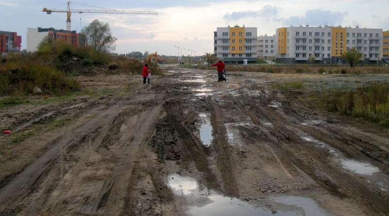 ulica Kminkowa fot. E. Cegieła