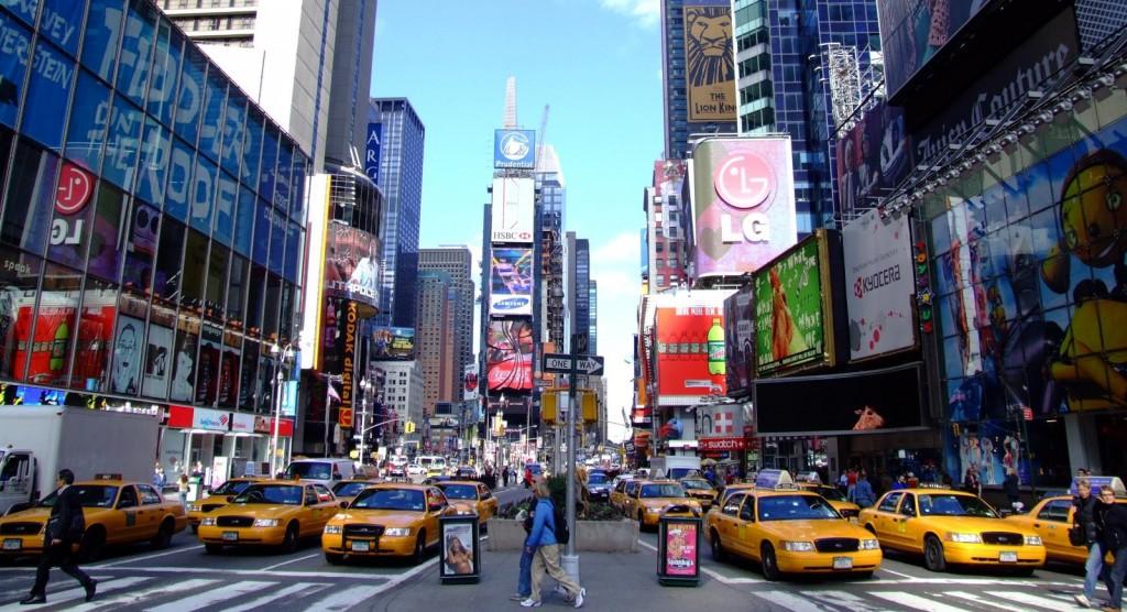 Times Square przed zmianami. Źródło: flickr.com, fot. Sam Valadi