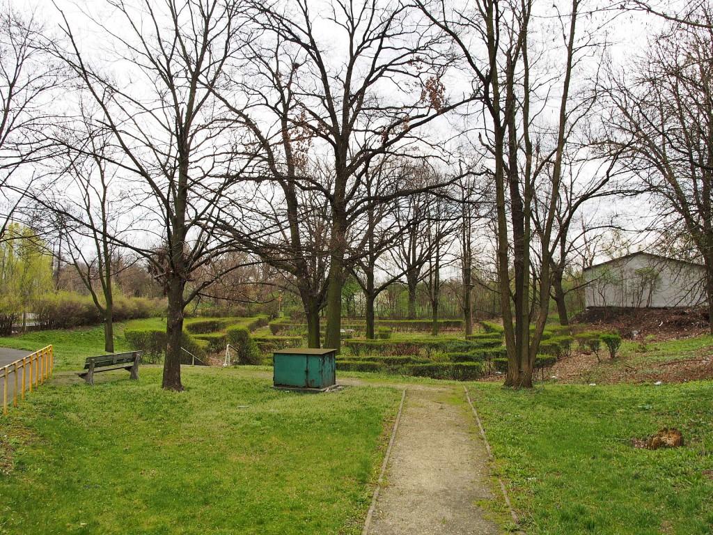 Ogród na tyłach zespołu, fot. A. Zienkiewicz