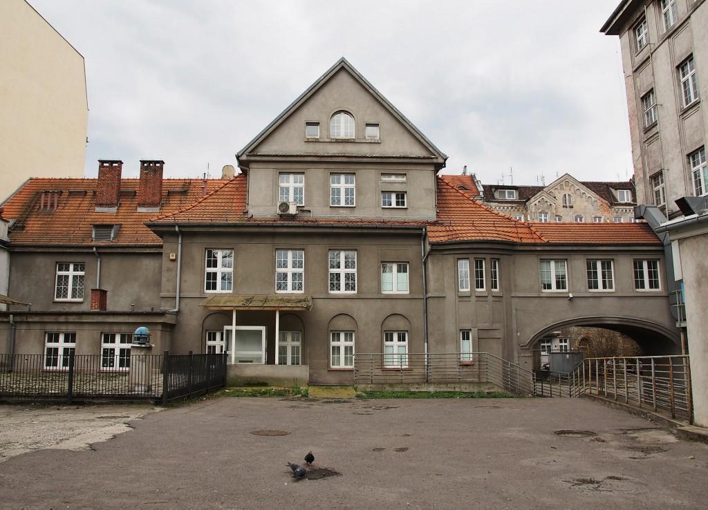 Budynek portierni z kostnicą, fot. A. Zienkiewicz