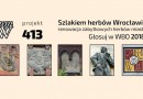 WBO 2018: Szlakiem herbów Wrocławia – renowacja herbów #413